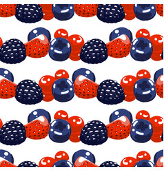 repeated seamless pattern different vector image