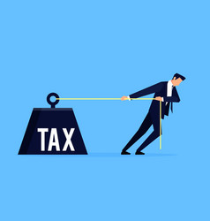 taxpayer business concept vector image