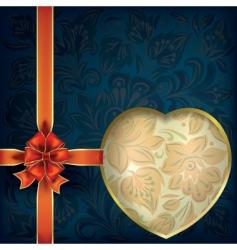 valentines greeting vector image