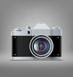 old film camera vector image