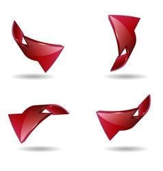 arrow2 vector image