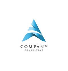 Creative letter a logo vector