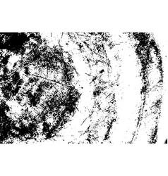 grunge black texture curve metal plate on vector image