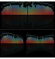 LED analyzer set vector