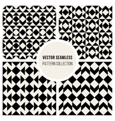 Seamless Square Geometric Pattern vector image