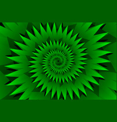 star green abstract background vector image