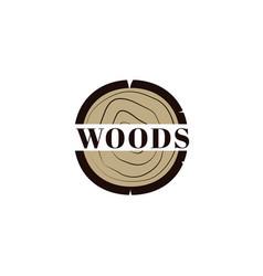 Woods logo sign symbol icon vector