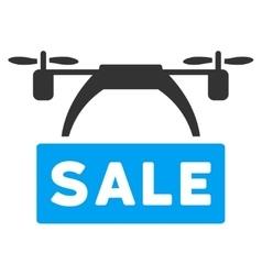Drone Sale Banner Icon vector image