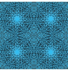 a seamless example of blue and black color vector image