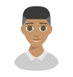 Afro american boy vector image