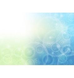 Christmas bokeh sparkling abstract vector image