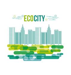 Eco friendly related image vector
