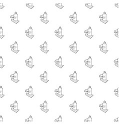 Diving pattern seamless vector