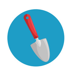 Gardening spatula isolated icon vector