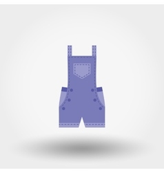 Rompers icon Flat vector image