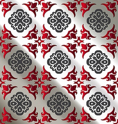 Seamless pattern tile background vector image