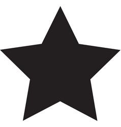 star black icon star icon eps vector image