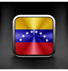 Venezuela icon flag national travel icon country vector image