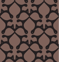 Victorian Seamless Floral Pattern vector