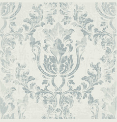 imperial rococo pattern ornament decor vector image vector image