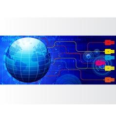 modern banner vector image vector image