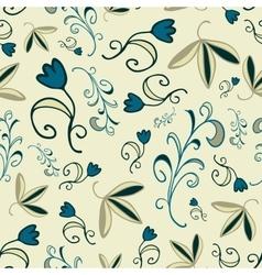 florar seamless pattern vector image
