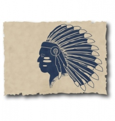 Mayan and Inca tribe vector image