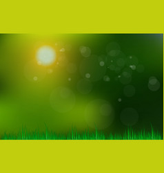 abstract green and blue blurred gradient vector image