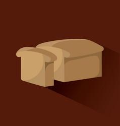 Bread product icon vector
