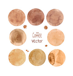 Brown circle vector