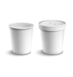 Coffee Cup Blank vector image