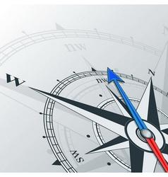 compass northwest vector image