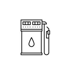 Gas station icon can be used for web logo mobile vector