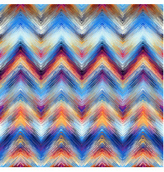 Grunge chevron pattern in low poly style vector