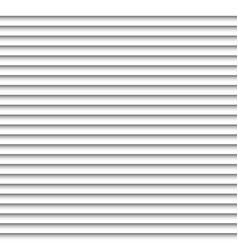 Horizontal white blinds design background window vector image