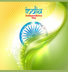 Indian independence day concept background vector