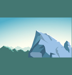 Mountains edge 01 vector