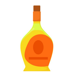 port wine icon cartoon style vector image