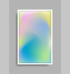 punchy pastel minimal vibrant gradient background vector image
