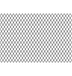 rabitz chain link fence seamless pattern vector image