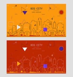 trendy mobile and website abstract backgrounds vector image