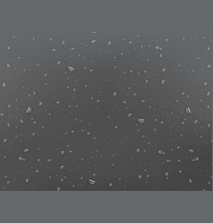 wet glass background drops on the window rain vector image
