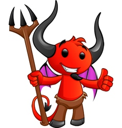 Devil Character 2 vector image