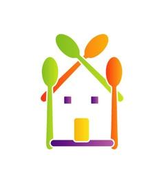 Logo for restaurant vector image vector image