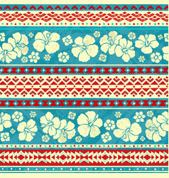 seamless surf pattern vector image vector image