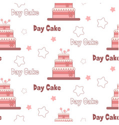 a festive poster to the international day of cake vector image