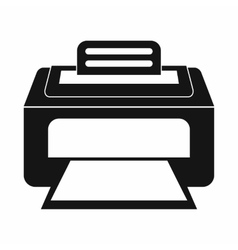 Modern laser printer icon simple style vector image vector image