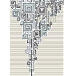 Abstract smoke vector image vector image