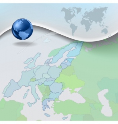 geograph background vector image vector image