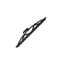 isolated auto wiper flat icon windshield vector image vector image
